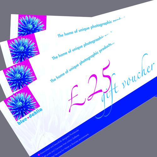 Blue Dahlia » £25 Gift Vouchers